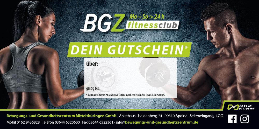 BGZ Gutschein