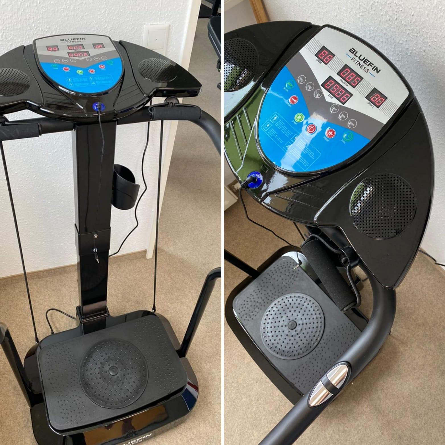 BLUFIN Fitness Pro-Vibrationsplatte